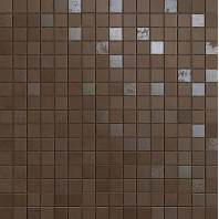 Dwell Brown Leather Mosaico Q ( )