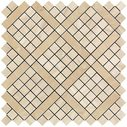 Marvel Pro Wall Diagonal Mosaic Travertino Alabastrino ( )