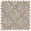 Marvel Pro Wall Diagonal Mosaic Travertino Silver ( )