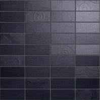 Sublime Ebony Mosaic Damask ( )