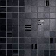 Sublime Ebony Mosaic Square